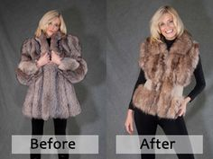 ~*~ Could /should I do this with my Gma's old fur coat?~ Did you know your furcoat, accessory, or garment could easily be restyled to turn it into a fashionable & stylish new piece? Don't stop wearing your favorite furcoat or garment because it looks out of style!
