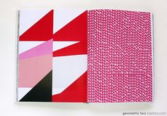 Do you love pattern? Do you love colour? Do you love beautiful books? Then this project is for you!