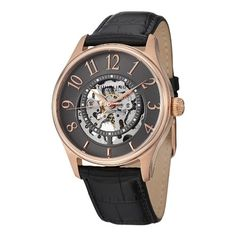 Men's Wrist Watches - Stuhrling Original Mens 746L04 Classic Solaris Analog Display Automatic Self Wind Black Watch * Want additional info? Click on the image.