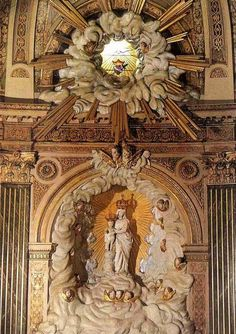allaboutmary:    A neoclassical altar dedicated to Our Lady of Victories in the chapel of the Congrégation du Saint Esprit in Paris.