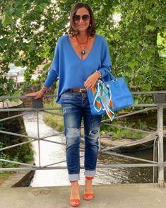 Spring Outfits Women Casual, Summer Outfits Women Over 40, Fall Fashion Outfits, Mode Outfits, Chic Outfits, Trendy Outfits, Womens Fashion, Curvy Fashion, Fashion Looks