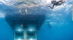 Underwater Hotel Room - Sweden