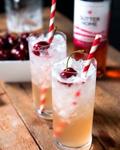 We're proud to present our perfect summer sipper cocktail. It's three parts Sutter Home White Zinfandel, two parts adventure, and an ounce of happy accidents. Create your own refreshing cocktail twist on history at SutterHome.com.