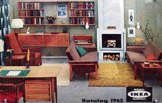 Mid-century IKEA catalogue cover