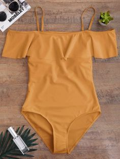 GET $50 NOW | Join Zaful: Get YOUR $50 NOW!http://m.zaful.com/off-the-shoulder-flounced-one-piece-swimwear-p_291698.html?seid=1e2nhqmqsqjngpjner35sngs55zf291698