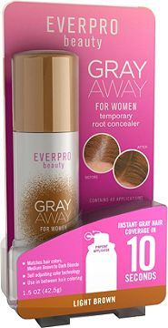 Ever Pro Gray Away Temporary Root Concealer Light Brown Ulta.com - need to try this!