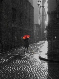 Pioggia.... mi manca anche quella!