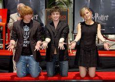 Rupert, Daniel and Emma Cute Harry Potter, Harry Potter Magic, Harry James Potter, Harry Potter Jokes, Harry Potter Pictures, Harry Potter Universal, Harry Potter Characters, Harry Potter World, Harry Potter Hermione