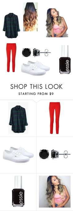 """"""""""" by bae03 on Polyvore featuring Madewell, Michael Kors, Vans, BERRICLE, Essie, women's clothing, women's fashion, women, female and woman"""