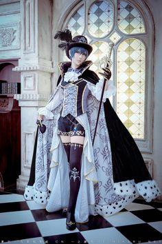 Ichinose Hikaru Ciel Phantomhive Kuroshitsuji Black Butler cosplay Twitter @ichinosehikaru