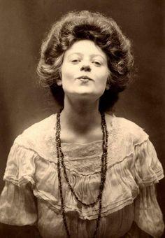 Irish girl, taken around 1910.