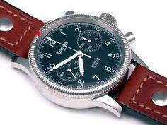 steve mcqueen hanhart watch   Hanhart Admiral Mechanical Chronograph 715.0100-00