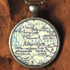LOVE this as it has my hometown of Alexander on it.  not many maps do.  :)