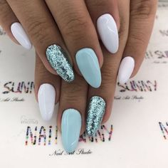 Nails 2018 40 Easter Nail Art Designs and Ideas 2018 Colorful Nail Designs - 40 Easter Nail Art Designs and Ideas 2018 Cute Summer Nail Designs, Colorful Nail Designs, Colorful Nails, Light Blue Nail Designs, Easter Nail Designs, Cute Nail Art Designs, Summer Design, How To Do Nails, My Nails