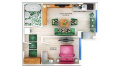 APARTAMENT DAISY - 2 CAMERE Suprafaţă construită: 46.62 mp Suprafaţă utilă: 38.80 mp Apartament disponibil doar la etajele 1 – 3 PRET: 35.200e + TVA 5% Gallery Wall, Relax, Concept, Flooring, Apartments, Building, Modern, Daisy, Home Decor