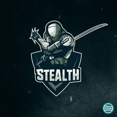 Stealth Ninja Logo Mascot Design Futuristic Source by jbelach