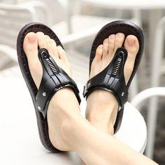 Aliexpress.com: Comprar 2017 de Calidad Superior Hombres de la Marca Casual Zapatos Superstar Estilo Europeo de Lujo de Marca Plataforma Diseñador Chancletas de Playa Sandalias Para Caminar de sandalias casuales fiable proveedores en Pattrily Store