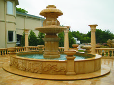 ** Specialty Stone Installation: Residential and Commercial experience installing Cast stone, Limestone and Marble products.