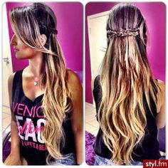 Long hair and Color