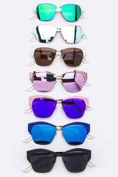 Iconic Browline Sunglasses (  Colors)