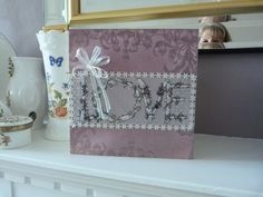 Flowery Romantic  card £2.00 by Cariad Crafts