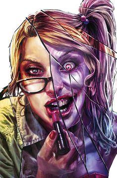 Suicide Squad #8 - Variant cover by Lee Bermejo