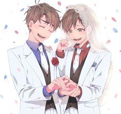 Osomatsu-san - Osomatsu x Karamatsu Matsuno - OsoKara Otaku, Comedy Anime, Ichimatsu, My Drawings, Anime Art, Fandoms, Kawaii, Fan Art, Cute
