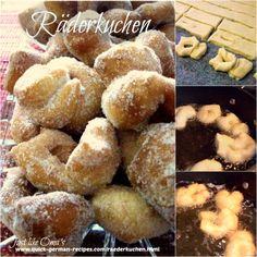 Räderkuchen: little bits of heavenly donuts, http://www.quick-german-recipes.com/raederkuchen.html