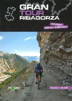 GRAN TOUR RIBAGORZA. Mapa a escala 1:50.000 que abarca 3-5 etapas de 240 Km. de longitud y 6.000 metros de altitud. Se realizan las etapas en bicicleta de montaña. Disponible en @ http://roble.unizar.es/record=b1582715~S4*spi