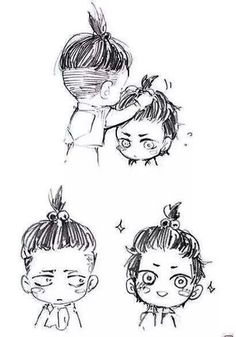 Image result for aot levi with a bun