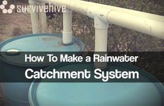 How To Make a Rainwater Catchment System