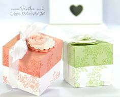 SpringWatch 2015 Tone on Tone Floral Lidded Favour Box Tutorial