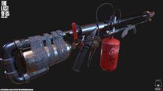 ArtStation - The Last of Us Flamethrower , Dennis Mihalatos