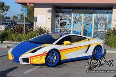 Chris Browns Lamborghini