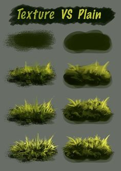 Texture Vs Plain Brush by NThartyFievi. Texture Vs Plain Brush by NThartyFievi. Digital Art Tutorial, Digital Painting Tutorials, Art Tutorials, Digital Paintings, Concept Art Tutorial, Art Sketches, Art Drawings, Music Drawings, Drawing Faces