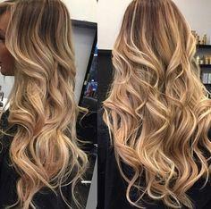Blonde ombré/baylage