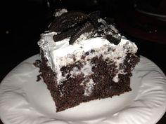 Dessertation: Oreo Pudding Poke Cake