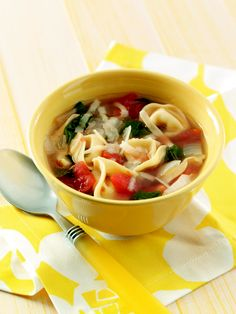 Easy soup, just add a salad or sandwich.