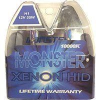 Cheap EuroDezigns H1 Monster Blue Headlights - Low Beam 10000k Xenon-Krypton HID…
