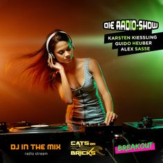 DJ In The Mix | Radio Show with Cats On Bricks & BreakOut Internet Radio, Radios, The Cure, Pop, Bricks, Cats, Movies, Movie Posters, Depeche Mode