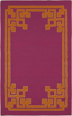 Magenta Alameda rug from Surya by @Lacefield Designs (AMD1014-58)