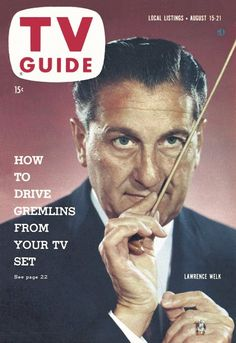 TV Guide, August 15, 1959 - Lawrence Welk