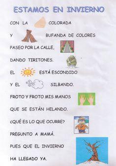 poemas para ninos | 1º de Primaria Escuelas Bosque: POESÍA INVIERNO