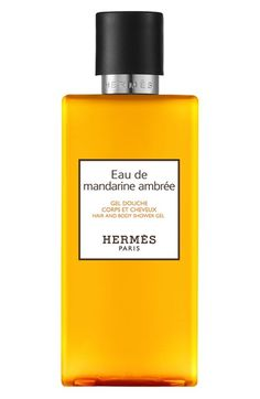 Hermès Eau de Mandarine Ambrée - Hair and body shower gel available at #Nordstrom