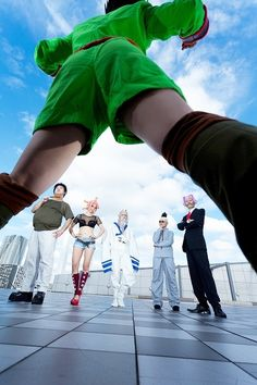 This is so cool! I am not a fan of cosplays though, but this is just, so far, the best I've seen! || Gon Freecss, standing over Buhara, Menchi, Isaac Netero, Lippo and Satotz from Hunter x Hunter #hunterxhunter #cosplay #anime