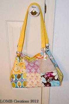 cute patchwork purse