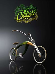 Vélo insecte by Mateusz Chmura #Helloodesigner