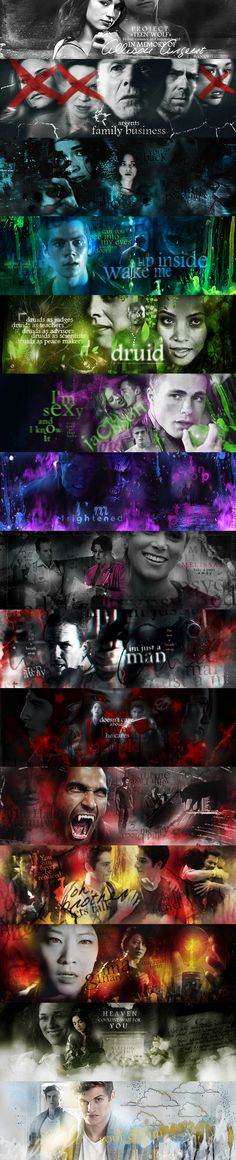 Project 'TEEN WOLF' with impossiblegirl by bxromance.deviantart.com on @deviantART