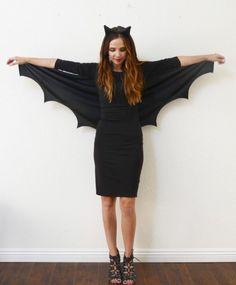 fasching-kostume-damen-anleitung-bat-woman-fluegel-schwarz-outfit