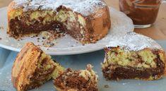 Torta panna e nutella (vale cucina e fantasia) Bread Cake, Pie Cake, Brownie Cake, Nutella Recipes, Chocolate Recipes, Cheesecakes, Cake Cookies, Cupcake Cakes, Gateau Cake